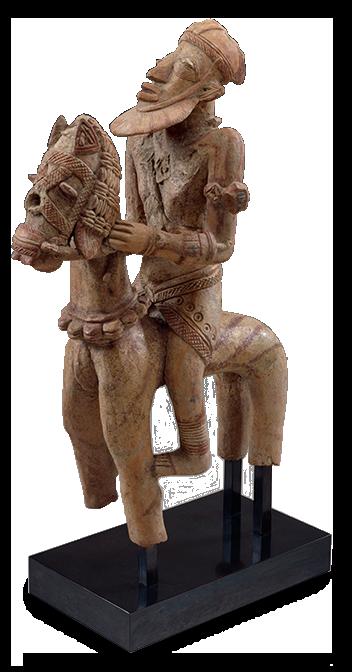 <em>Horse and Rider</em>, Mali, 12th-16th century.