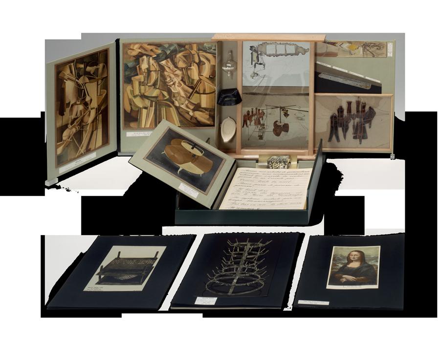 Marcel Duchamp, American (1887-1968).<em> Box in a Valise</em>, 1963.