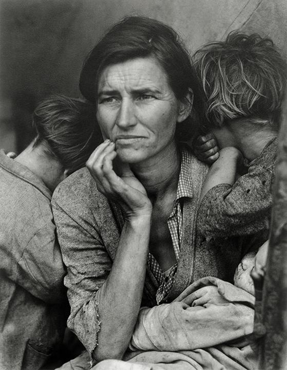 Dorothea Lange, American (1895-1965). <em>Migrant Mother, Nipomo, California</em>, 1936; printed early 1960s.