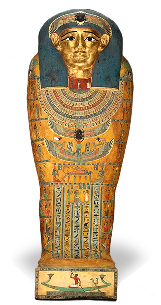 <em>Inner Coffin of Meret-it-es</em>, ca. 380-250 B.C.E