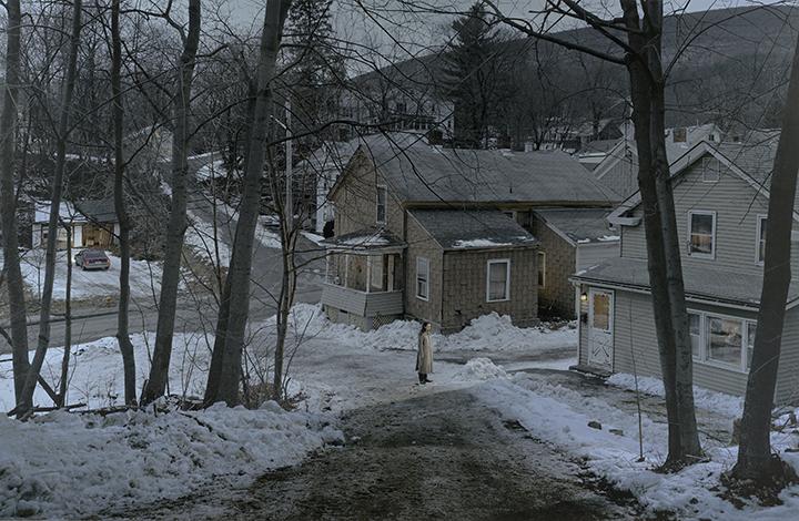 Gregory Crewdson, American (b. 1962). <em>Untitled (snowy valley)</em>, 2006.