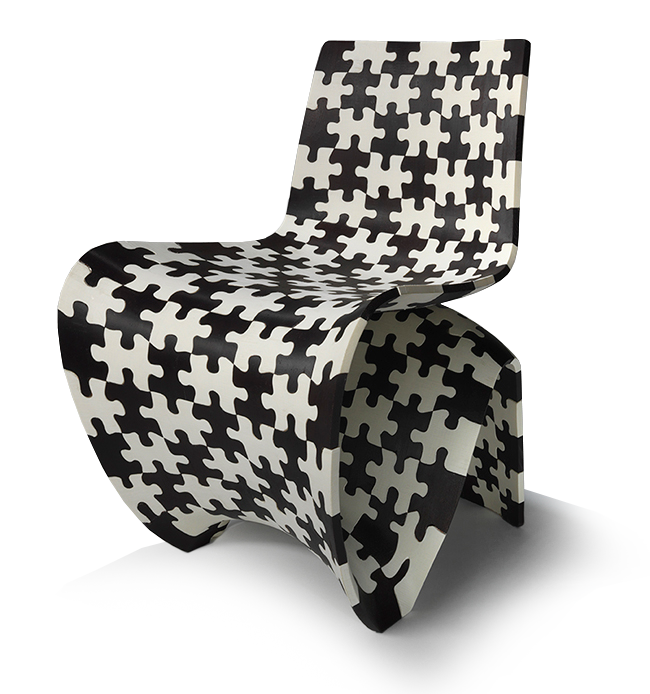 Joris Laarman, Dutch (b. 1979). <em>Makerchair Jigsaw (Prototype)</em>, 2014.