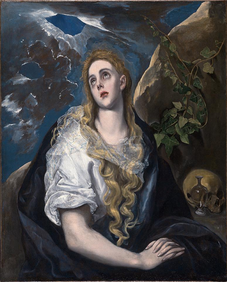 El Greco, <em>The Penitent Magdalene</em>, ca. 1580-1585.