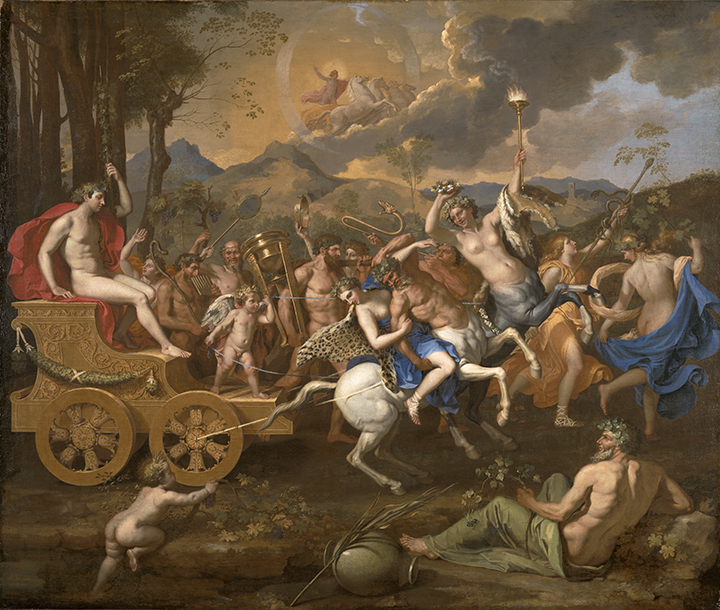 Nicolas Poussin, <em>The Triumph of Bacchus</em>, 1635-1636.