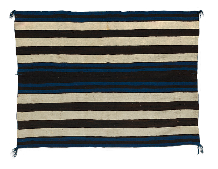 <em>First Phase Chief Blanket</em>, Navajo, Arizona or New Mexico, ca. 1850.