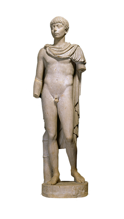 <em>Portrait of a Roman Youth</em>,mid-2nd century C.E.