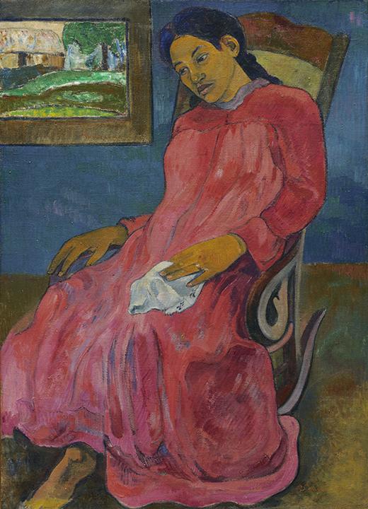Paul Gauguin, <em>Faaturuma (Melancholic)</em>, 1891.
