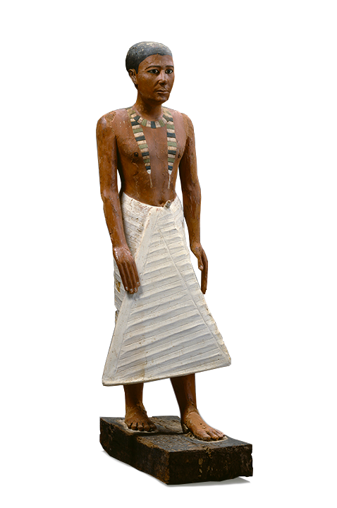 <em>Statue of Metjetji</em>,ca. 2375-2345 B.C.E.