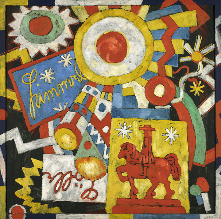 Marsden Hartley, <em>Himmel</em>, ca. 1914-1915.