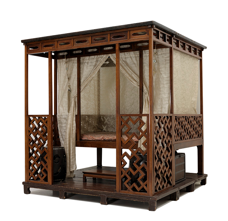<em>Canopy Bed with Alcove</em>, Chinese, 16th century.