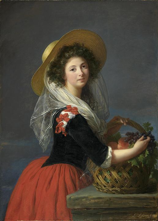 Elisabeth Louise Vigée Le Brun, <em>Portrait of Marie-Gabrielle de Gramont, Comtesse de Caderousse</em>, 1784.