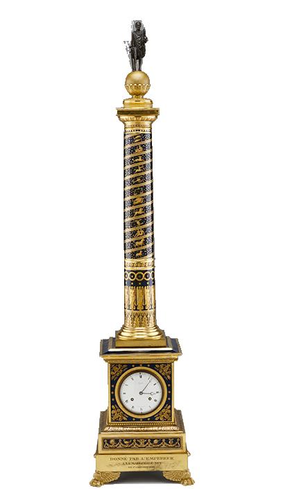Jean-Joseph Lepaute, clock movement, French (1768-1846). Manufacturer: Sèvres Imperiale Manufactory, France (1756-present), Clock, 1813.