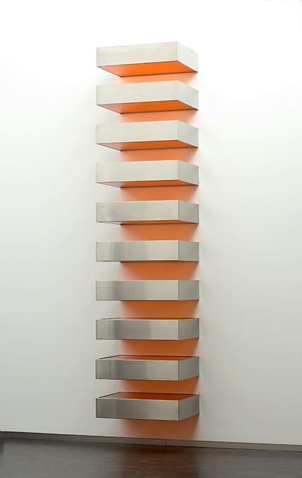Donald Judd, American, 1928-1994.  <em>Large Stack</em>, 1968.