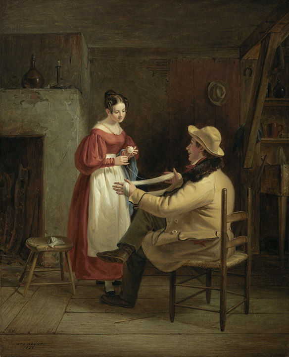 William Sidney Mount, <em>Winding Up</em>, 1836.