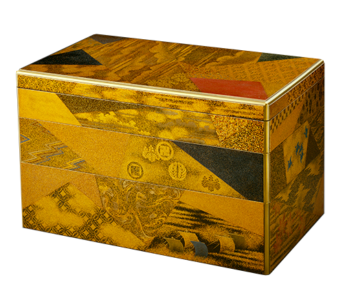 Izuka Tōyō, Japanese (active 1760-1780). <em>Tiered Writing Box</em>, ca. 1775,