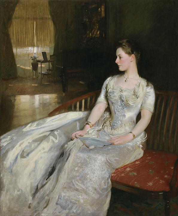 John Singer Sargent, <em>Mrs. Cecil Wade</em>, 1886.