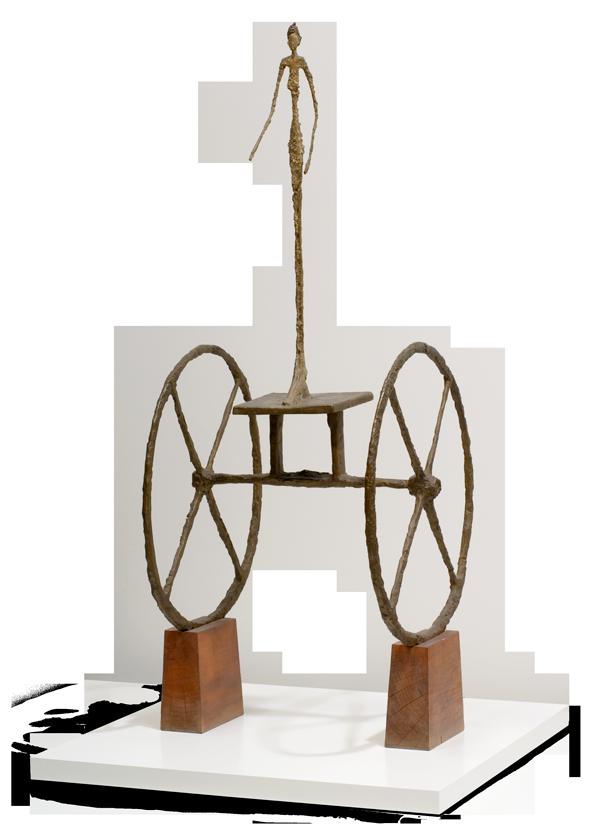 Alberto Giacometti, Swiss (1901-1966). <em>The Chariot</em>, 1950.