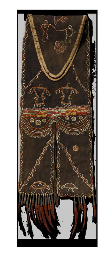 <em>Tab Bag</em>, ca. 1800.