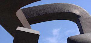 Sculpture by Eduardo Chillida